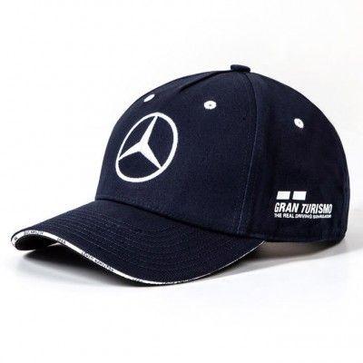 Blue Mercedes Lewis Hamilton Cap