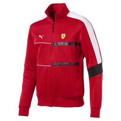 rote ferrari sweatjacke von puma fanemotion. Black Bedroom Furniture Sets. Home Design Ideas