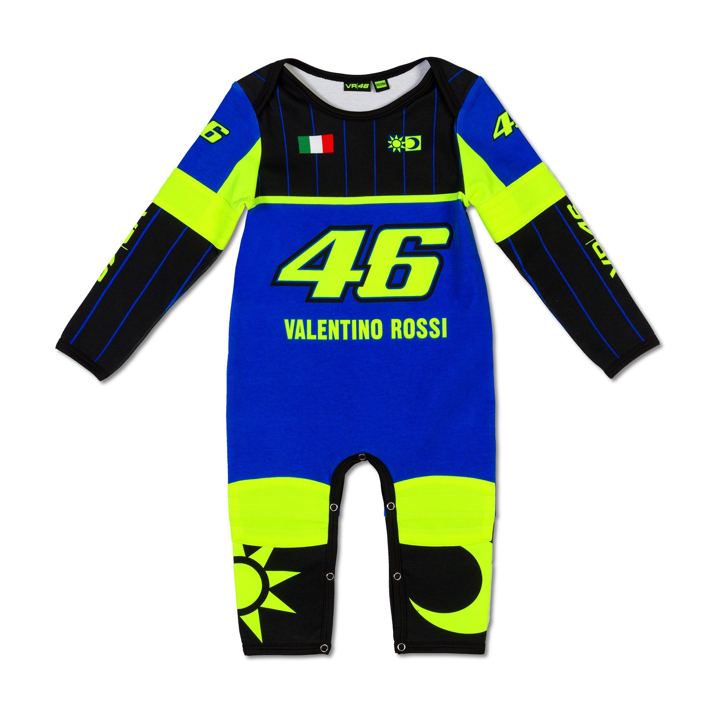 VR46 Baby Overall Turtle 46 VR|46 Valentino Rossi 12 Monate