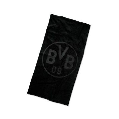 Borussia Dortmund Handtuch Emblem schwarz