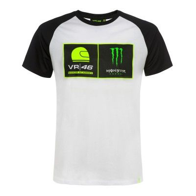 Weisses Vr46 Thedoctor T Shirt Riders Academy Fanemotion