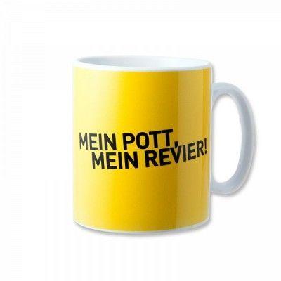"""Borussia Dortmund Tasse """"Mein Pott - Mein Revier"""""""