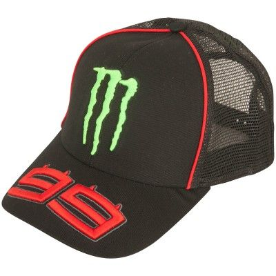 Jorge Lorenzo Monster Energy Trucker Cap  d38fa2730c3