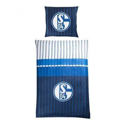 """FC Schalke 04 Bettwäsche """"Marine"""""""