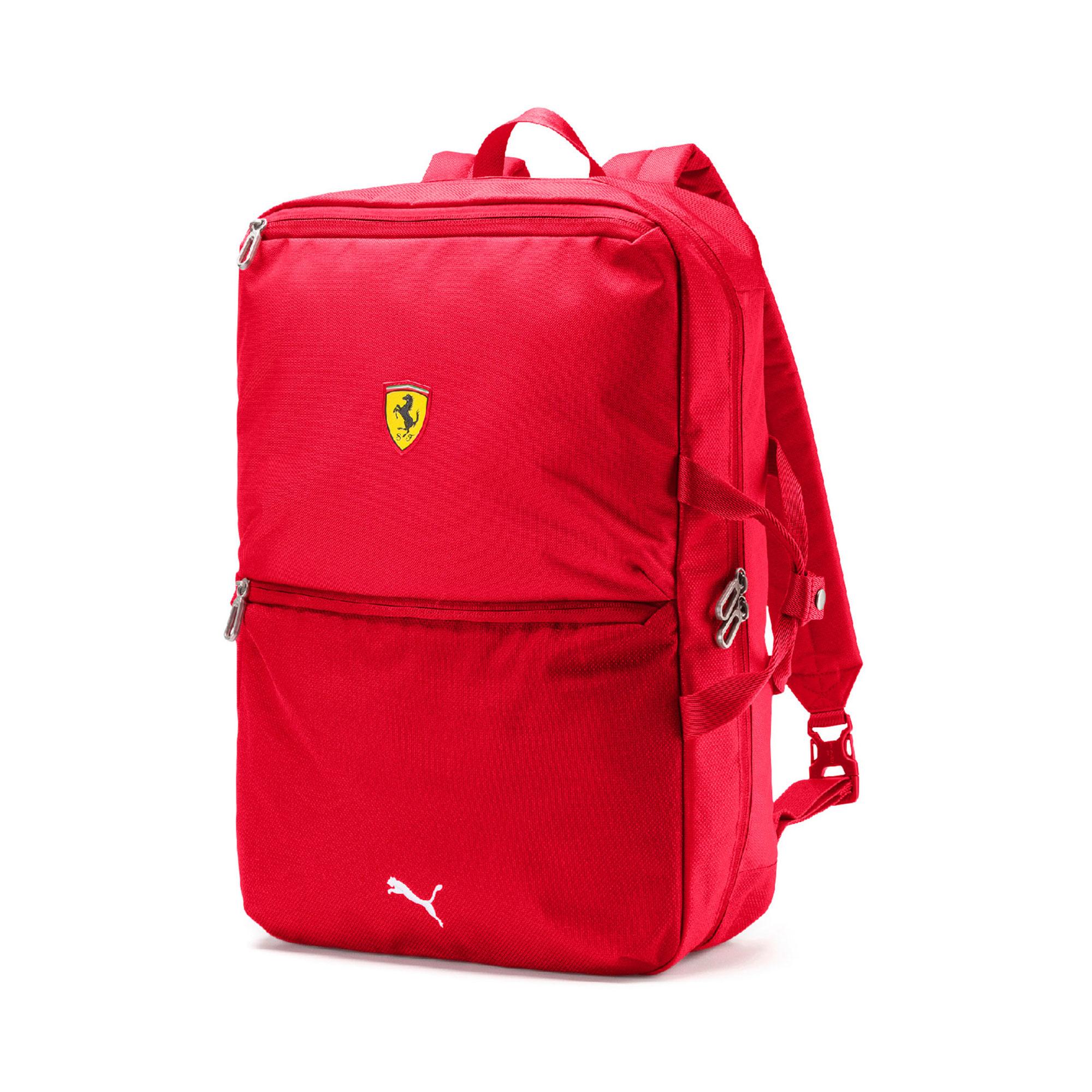 db294cef56772 Puma Ferrari team backpack 2019