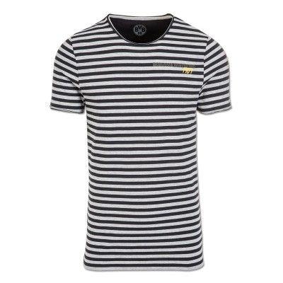 Borussia Dortmund T-Shirt mit Streifen