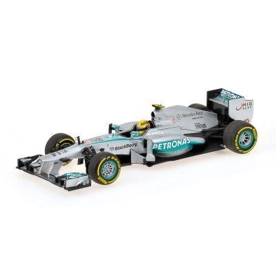 Mercedes AMG Petronas Lewis Hamilton GP China 2013, 1:43