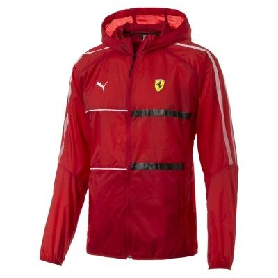 rote ferrari jacke von puma fanemotion. Black Bedroom Furniture Sets. Home Design Ideas