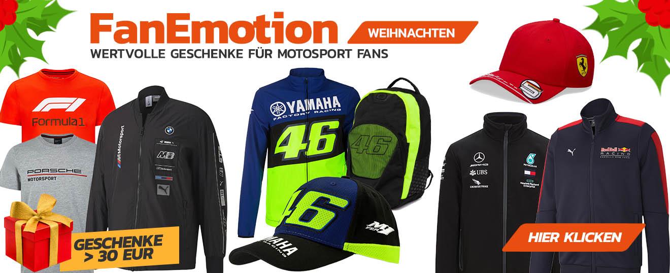 Motorsport Geschenke über 30,- EUR