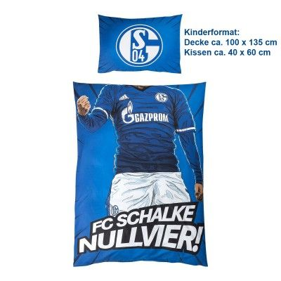 Fc Schalke Bettwäsche Hero Kids Fanemotion