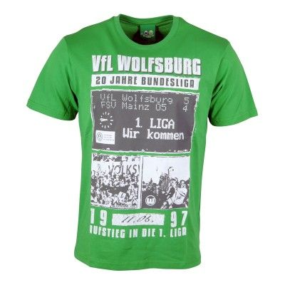"""VfL Wolfsburg T-Shirt """"20 Jahre Collage"""""""