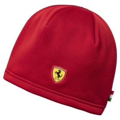 Ferrari beanie red  d053b3c240c