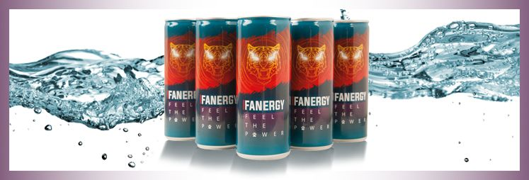Fanergy Drink - Feel the Power