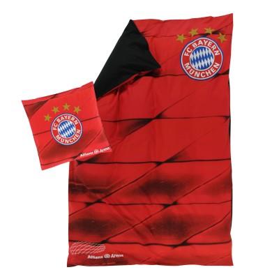 Schwarz Rote Fc Bayern Wendebettwäsche Fanemotion