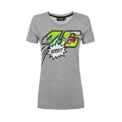 Vr46 Thedoctor Damen T Shirt Pop Art Fanemotion