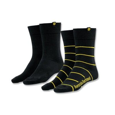 Borussia Dortmund Socken 2er Set