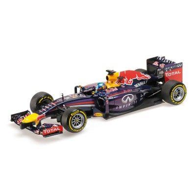Red Bull Racing RB10, Vettel, 2014, 1:18