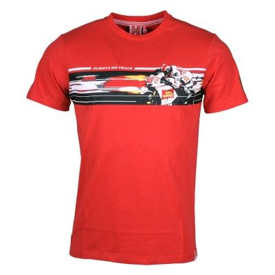 "Marco Simoncelli T-Shirt ""On Track"""
